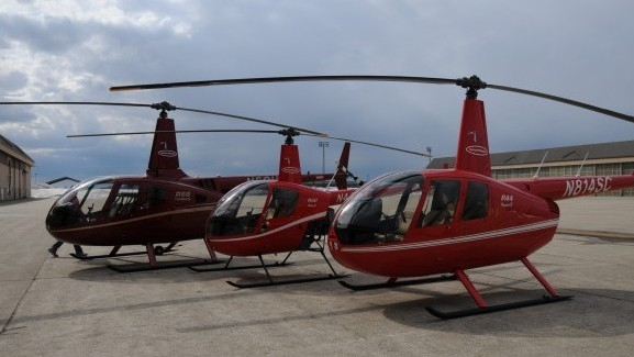 Helicopter Tours on vacation at Hampton Beach