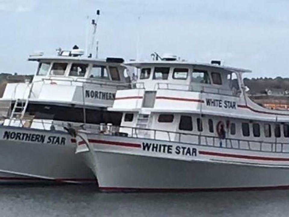 Hampton Beach fishing boats